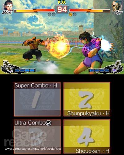 Super Street Fighter IV 3D Edition