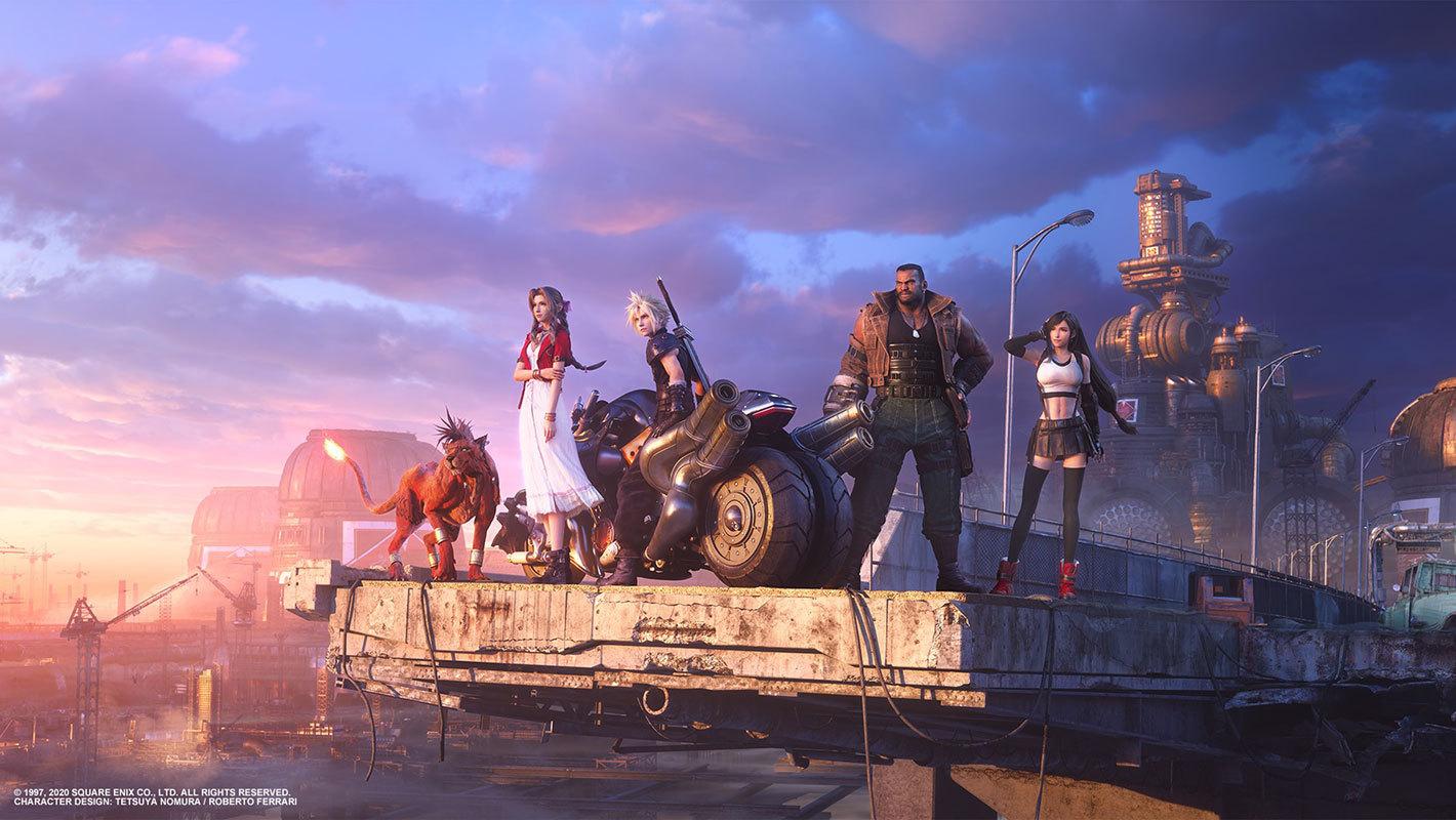 El remake de Final Fantasy 7, gratis en PS4 con PS Plus