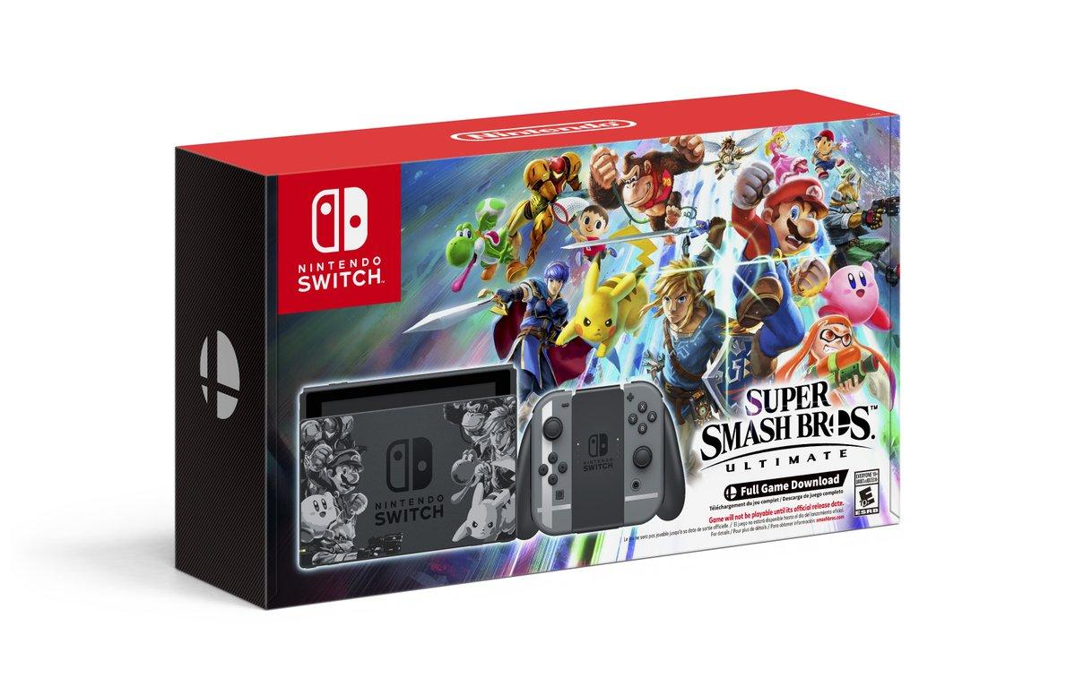 Mega Sorteo Gana Una Consola Nintendo Switch Con Smash Bros Ultimate
