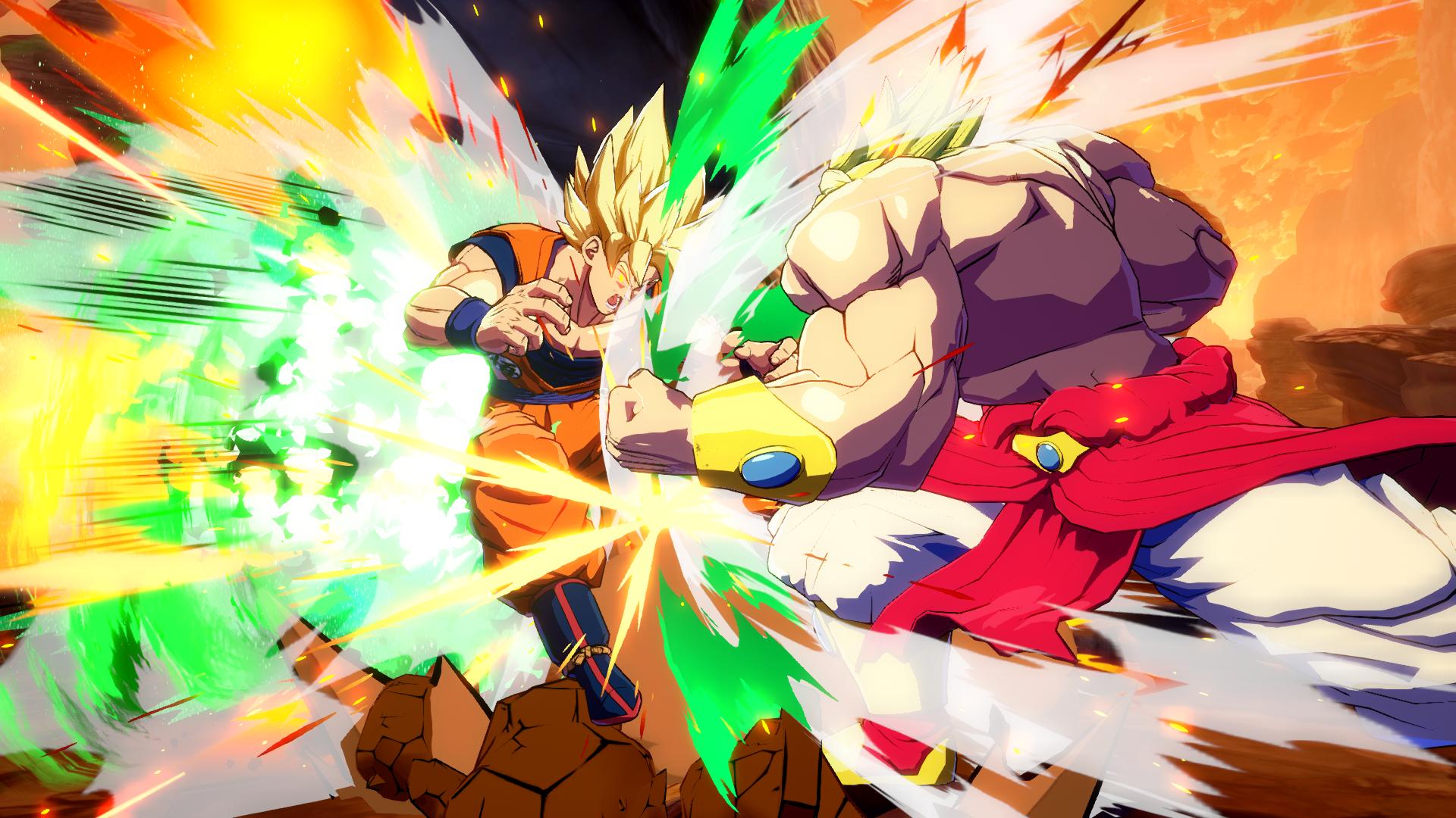 Imágenes De Demostración De Fuerza De Broly En Dragon Ball
