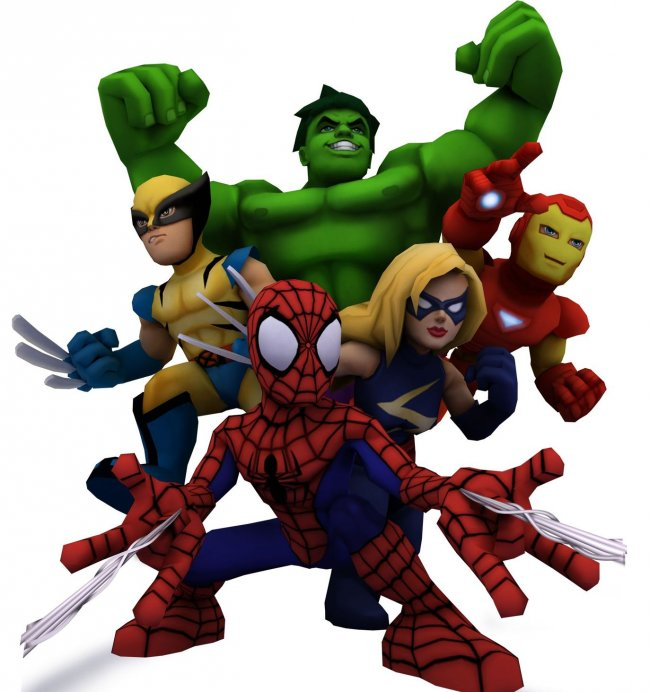 Cumpleaños del mmo marvel super hero squad