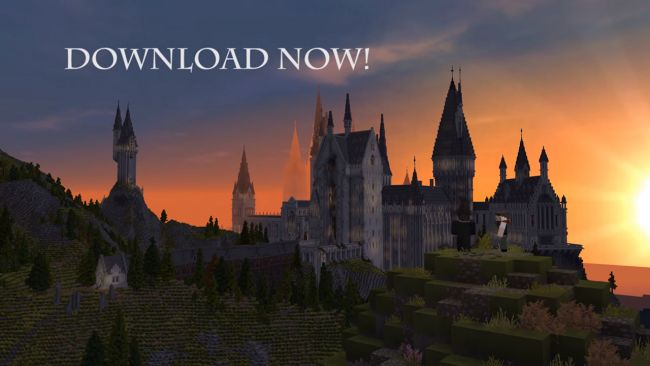 Conoce y descarga el RPG de Harry Potters dentro de Minecraft