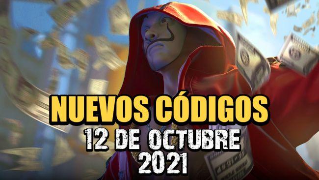 Códigos Free Fire de hoy 12 de octubre de 2021 (funcionan)