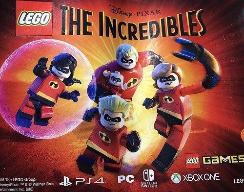 Filtrado LEGO Los Increíbles para PC, PS4, Switch y Xbox One