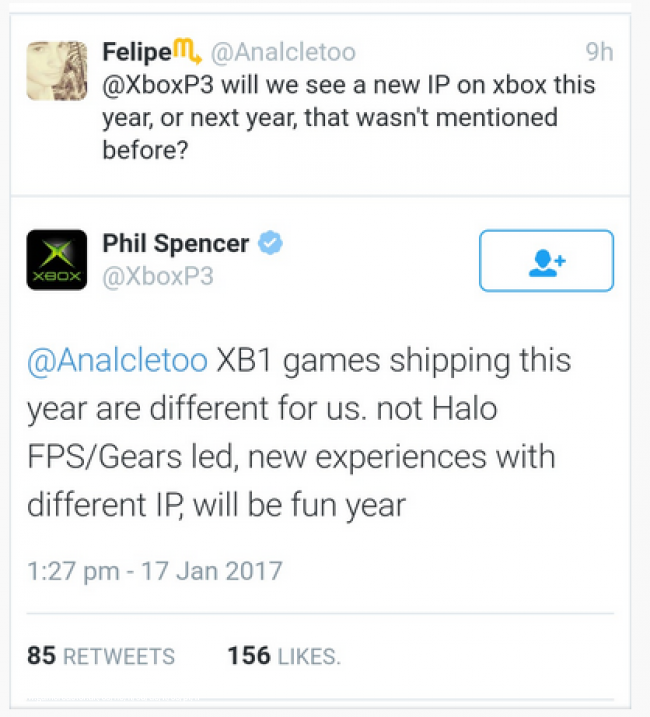 Phil Spencer: no habrá ni Halo FPS ni Gears of War en 2017
