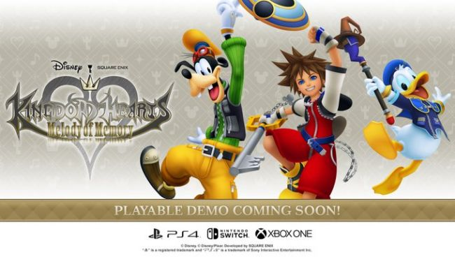 Pide pista con la demo de Kingdom Hearts: Melody of Memory