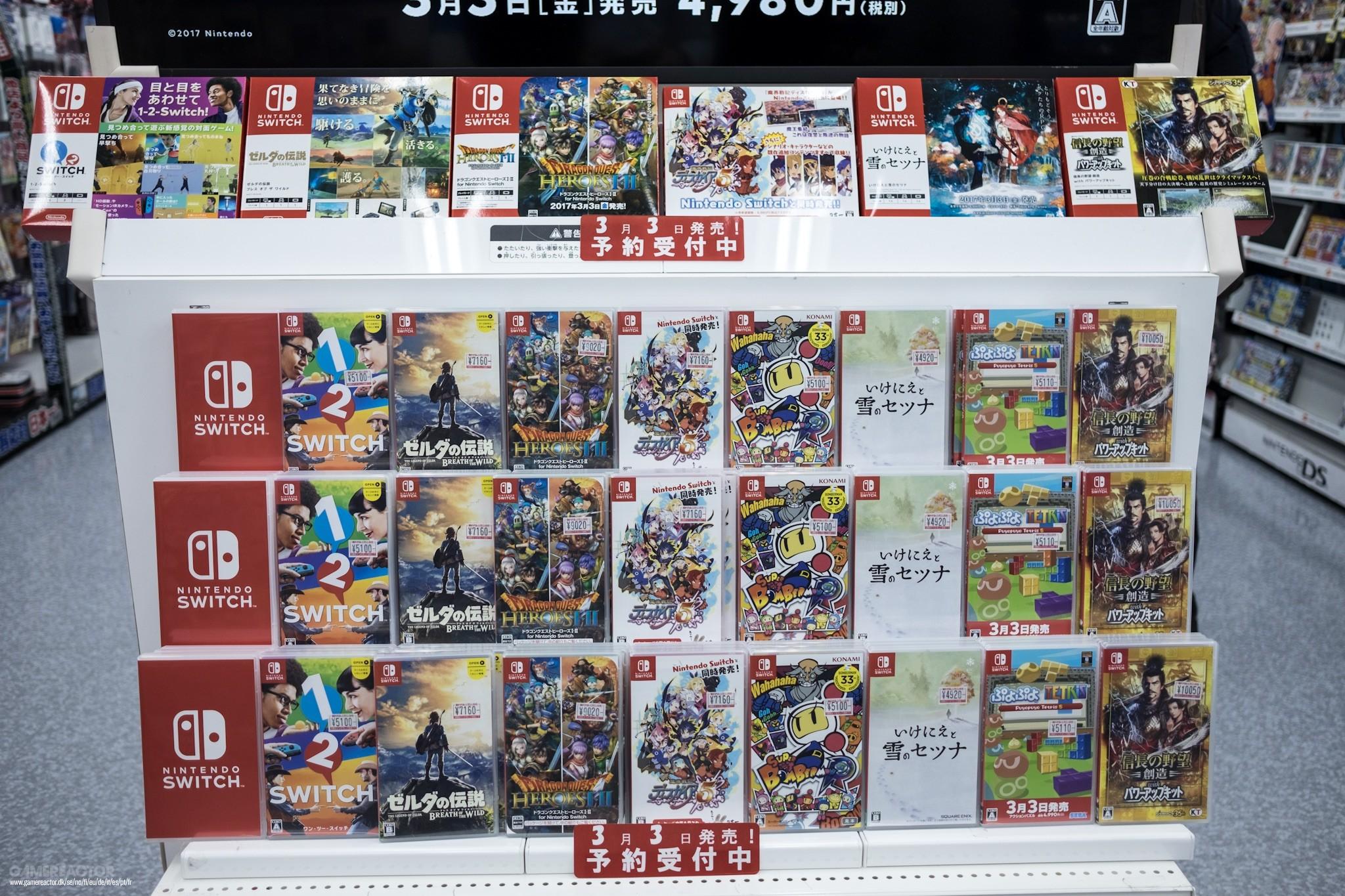 Imagenes De Fotos Exclusivas De Los Juegos De Nintendo Switch En