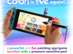 El stylus SonarPen marca el regreso de Colors en Nintendo Switch