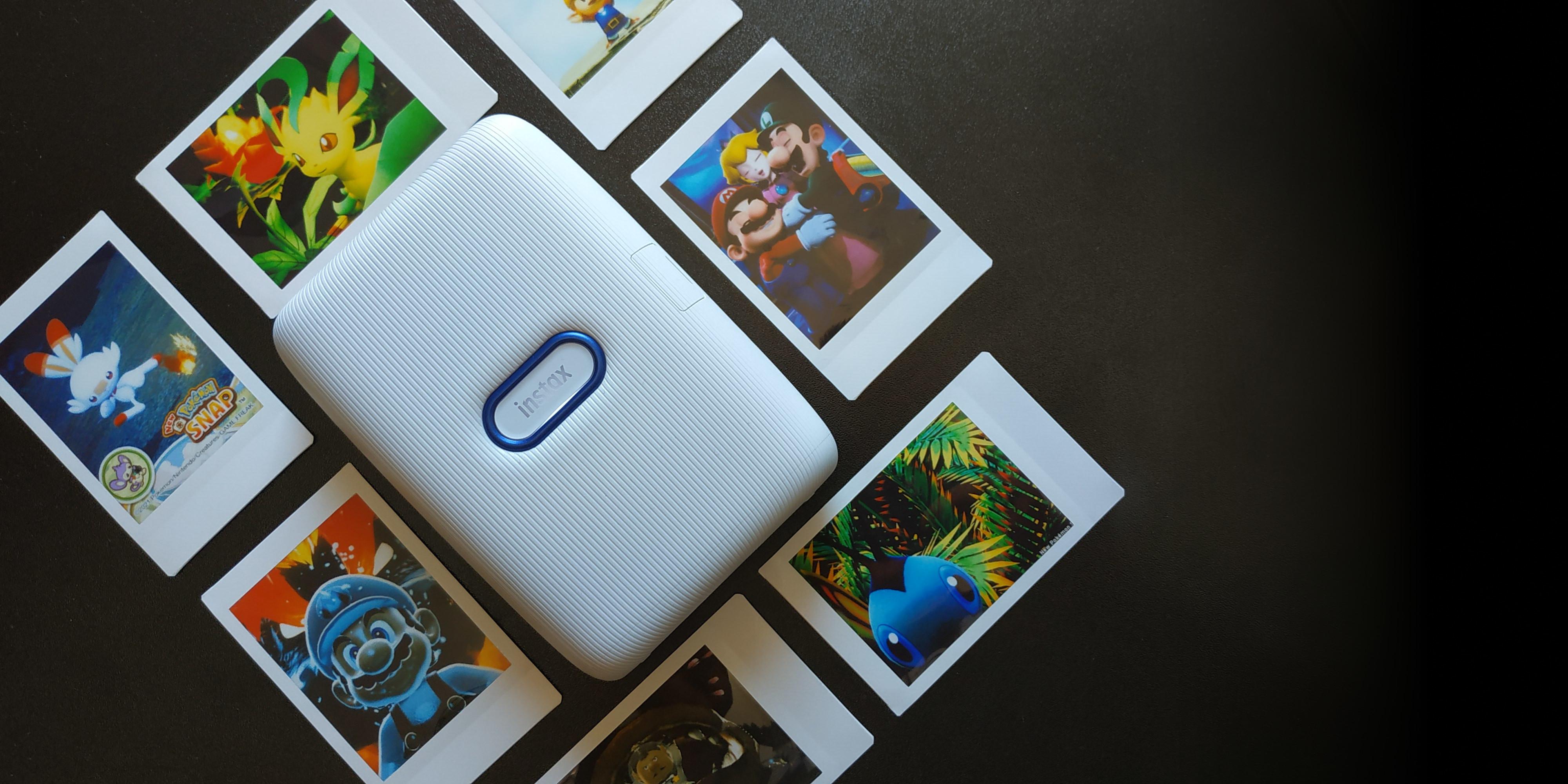 De la consola al papel: explorando el modo foto de Switch con Instax Mini Link