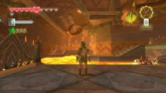Zelda Skyward: guantes y calor