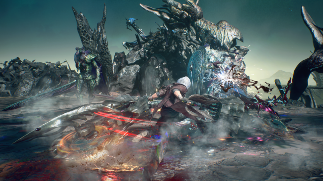 Devil May Cry 5 descarga el modo survival Bloody Palace en abril