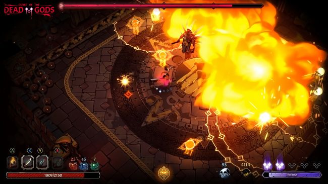 Curse of the Dead Gods será v1.0 en PC, Xbox One, PS4  y Switch