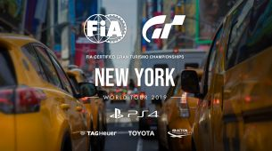 Sigue en directo y en español Gran Turismo World Tour - New York