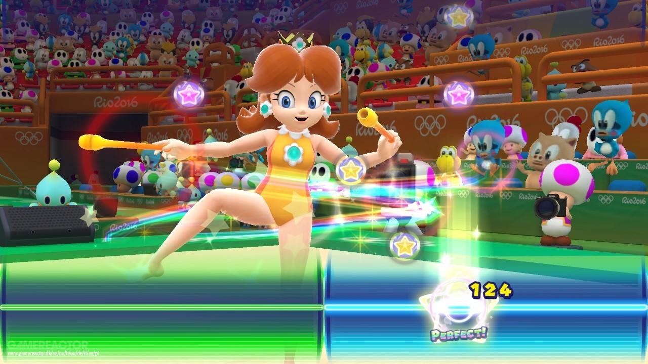 Imagenes De Mario Sonic En Los Juegos Olimpicos Rio 2016 Para Wii