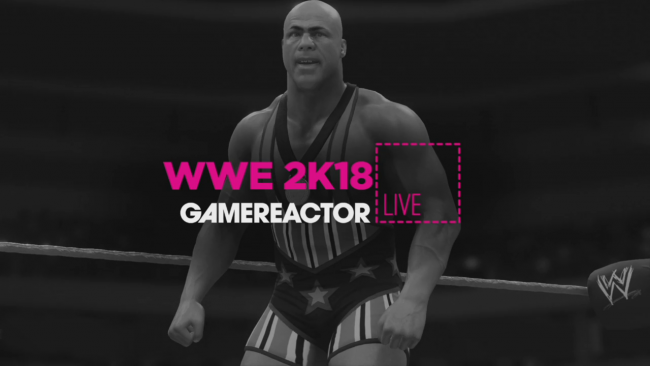 Mira dos horas de gameplay de WWE 2K18