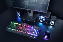 Análisis del teclado Trust GXT 856 Torac Metal Gaming