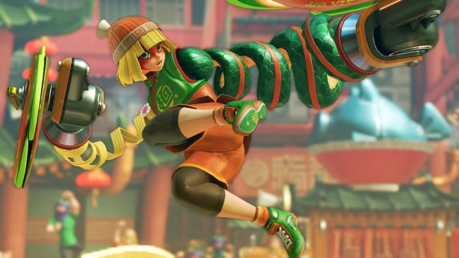 Nintendo termina el apoyo a Arms con su Party Crash Bash