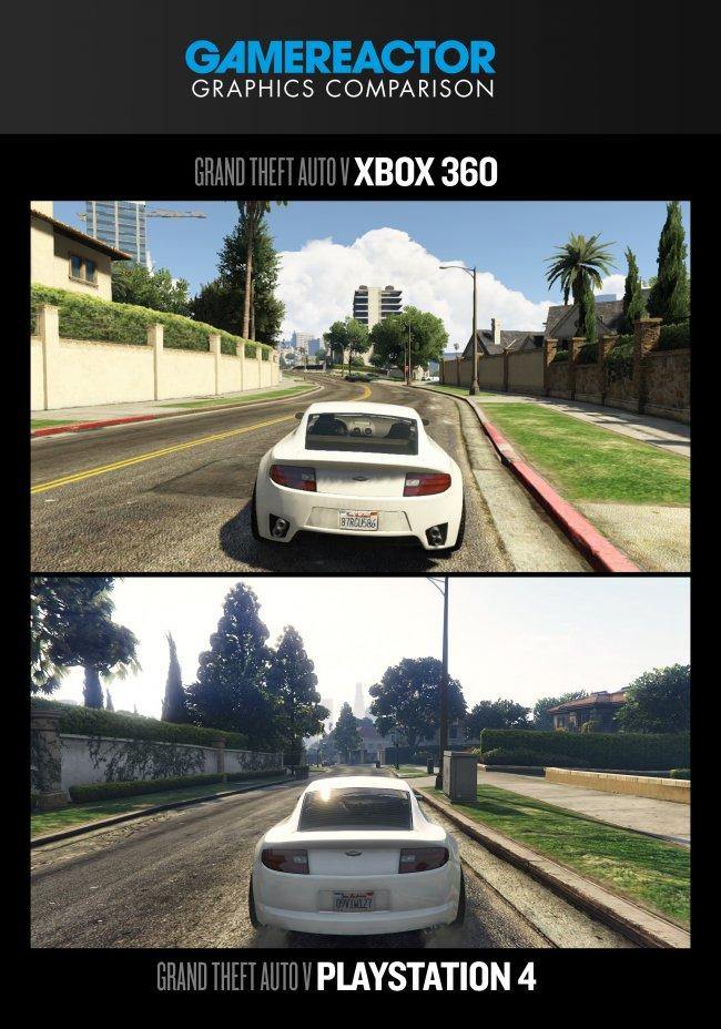 Comparativa gráficos GTA V: PS4 vs Xbox 360 Xbox 360 Vs Ps3 Graphics Gta 5