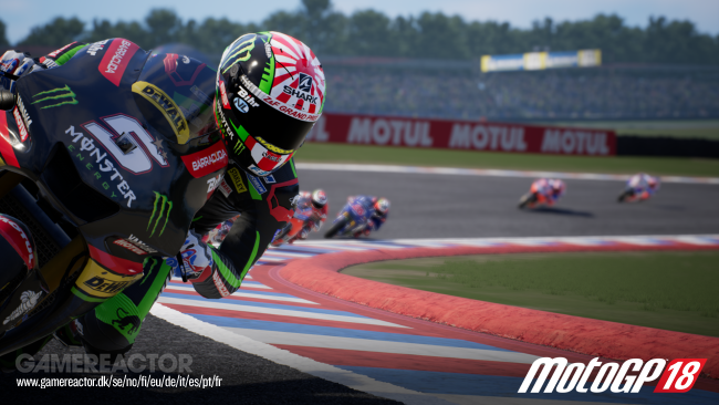 Gameplay exclusivo de MotoGP 18