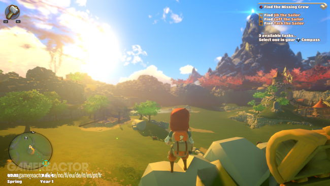 Yonder: The Cloud Catcher Chronicles crece para Switch