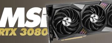 Análisis de la gráfica MSI RTX 3080 Gaming X Trio 10G