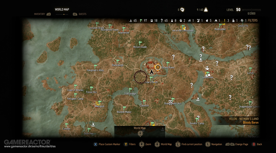Descubierto el tamao del mapa de witcher 3 gumiabroncs Image collections