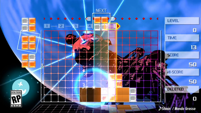 Mizuguchi se estrena en Switch con Lumines Remastered