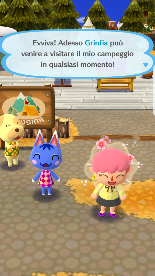 Levanta la segunda planta en Animal Crossing: Pocket Camp