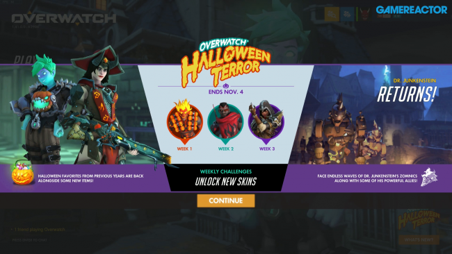 Triple gameplay de Halloween de Terror 2019 en Overwatch