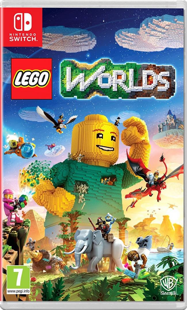 Resultado de imagen de lego worlds nintendo switch