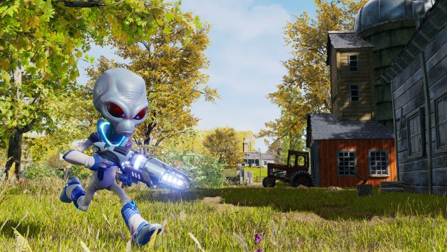 Con Crypto-138 en pantalla solo puede ser el remake de Destroy All Humans! 2