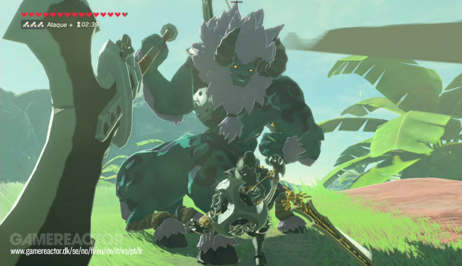 Zelda: Breath of the Wild - Guía rápida para matar al Centaleón