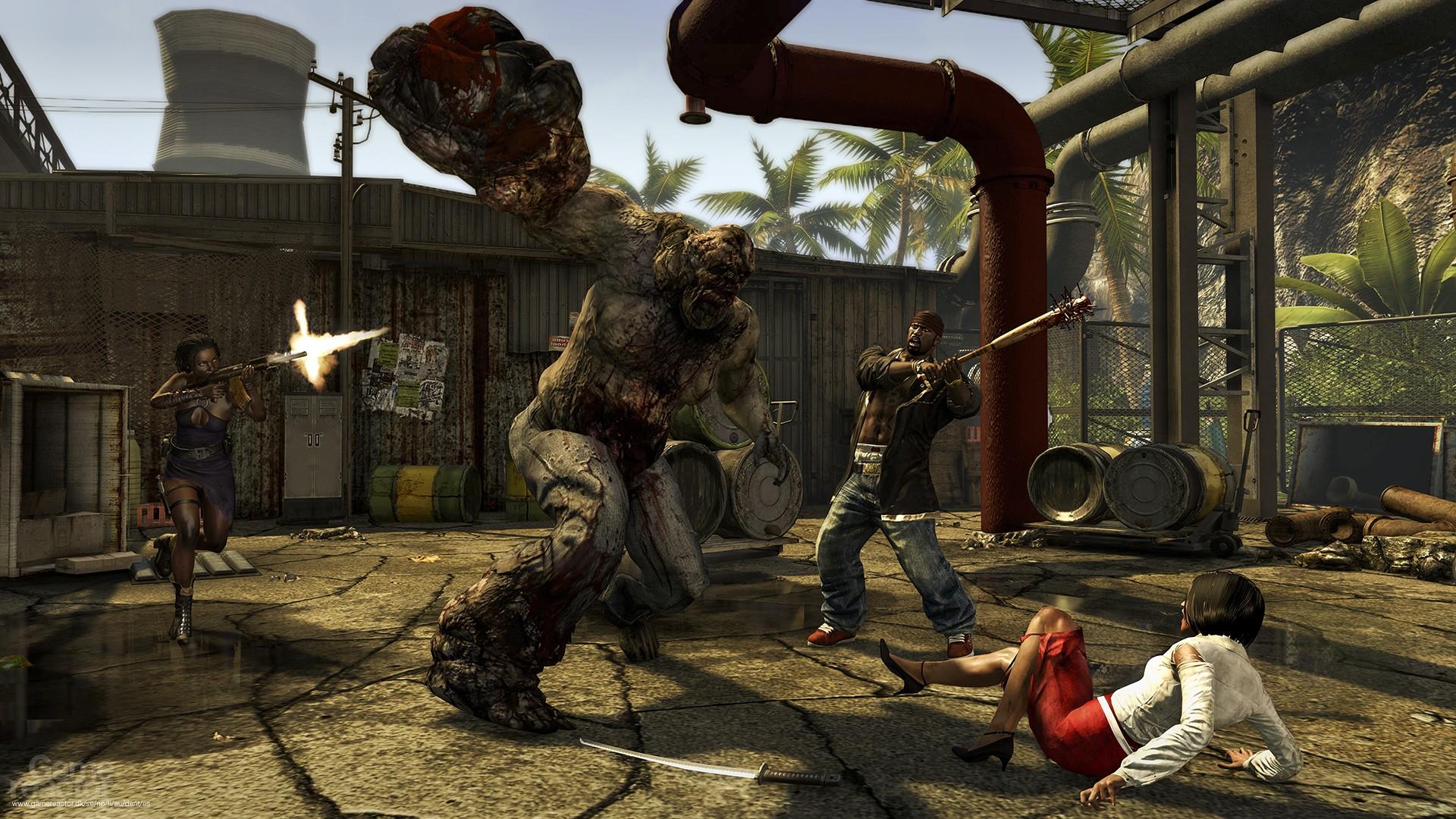 puedes jugar dead island con tus amigos en cooperativo de principio a fin.