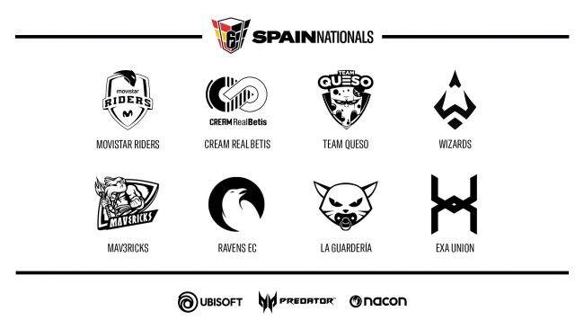 Todo listo para que arranque R6 Spain Nationals Season 3
