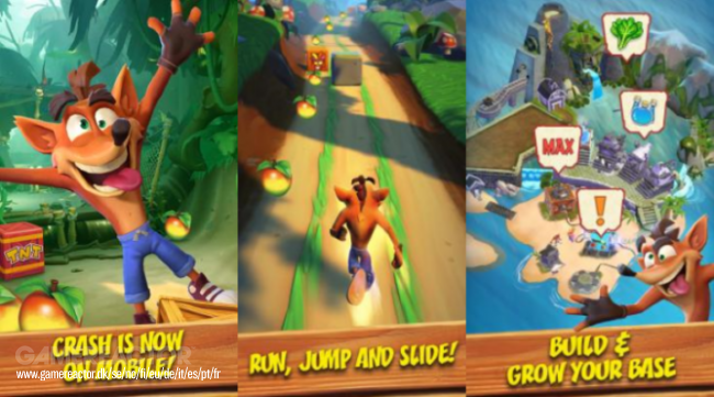Multijugador y skins para Crash Bandicoot: On the Run!