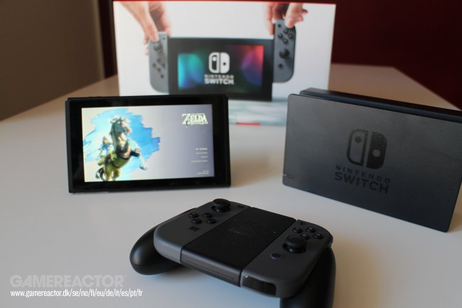 Nintendo niega que la escasez de Switch sea a propósito