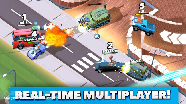 Crash of Cars llega a iPhone, iPad y Android