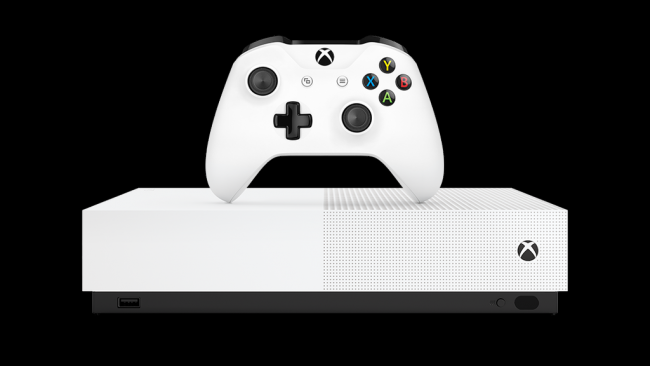 Unboxing y demostración con Xbox One S All-Digital Edition