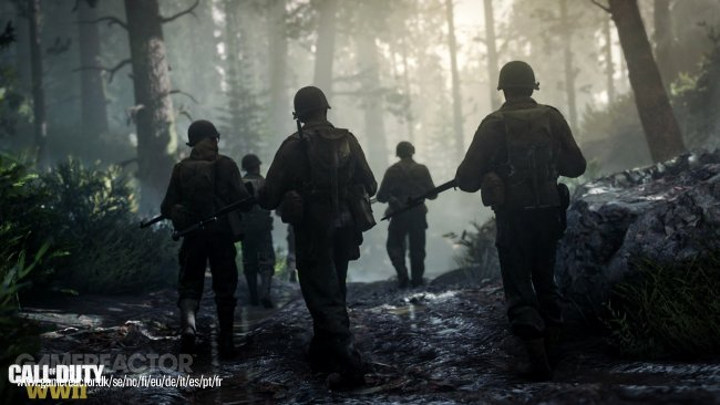 Nada de esprintar sin parar en Call of Duty: WWII