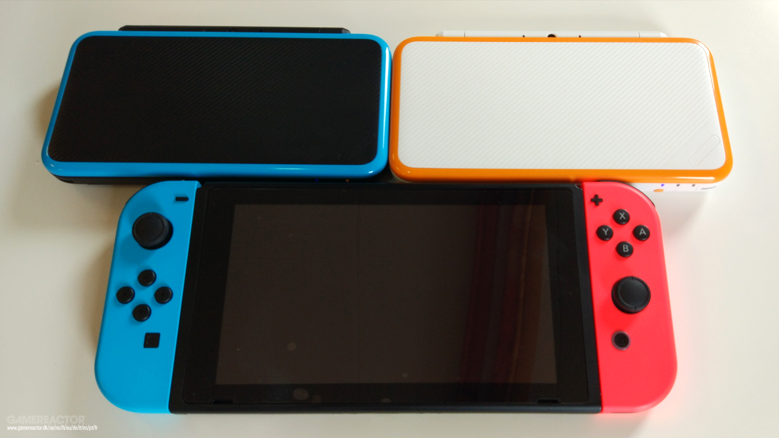 Comparativa New Nintendo 2ds Xl Vs Switch Vs New 3ds Xl
