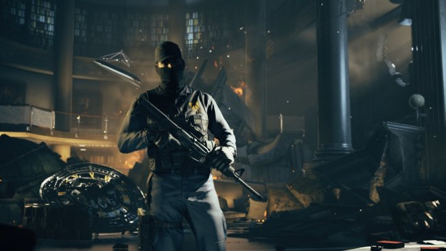 Quantum Break, a lo Xbox One, quiere fundirse con la TV