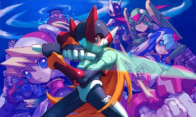Reaparece en vídeo Mega Man Zero/ZX Legacy Collection