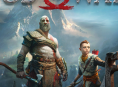 Esta es la portada de God of War PS4
