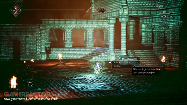 Project Octopath Traveler - impresiones demo