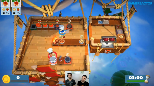 Gameplay de Overcooked! 2: Surf 'N' Turf