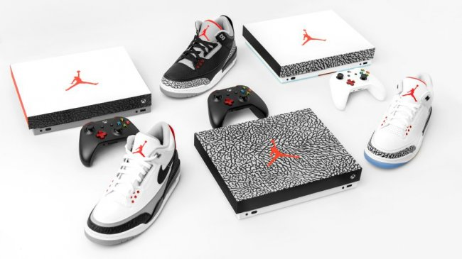 Xbox One X se viste de Air Jordan III