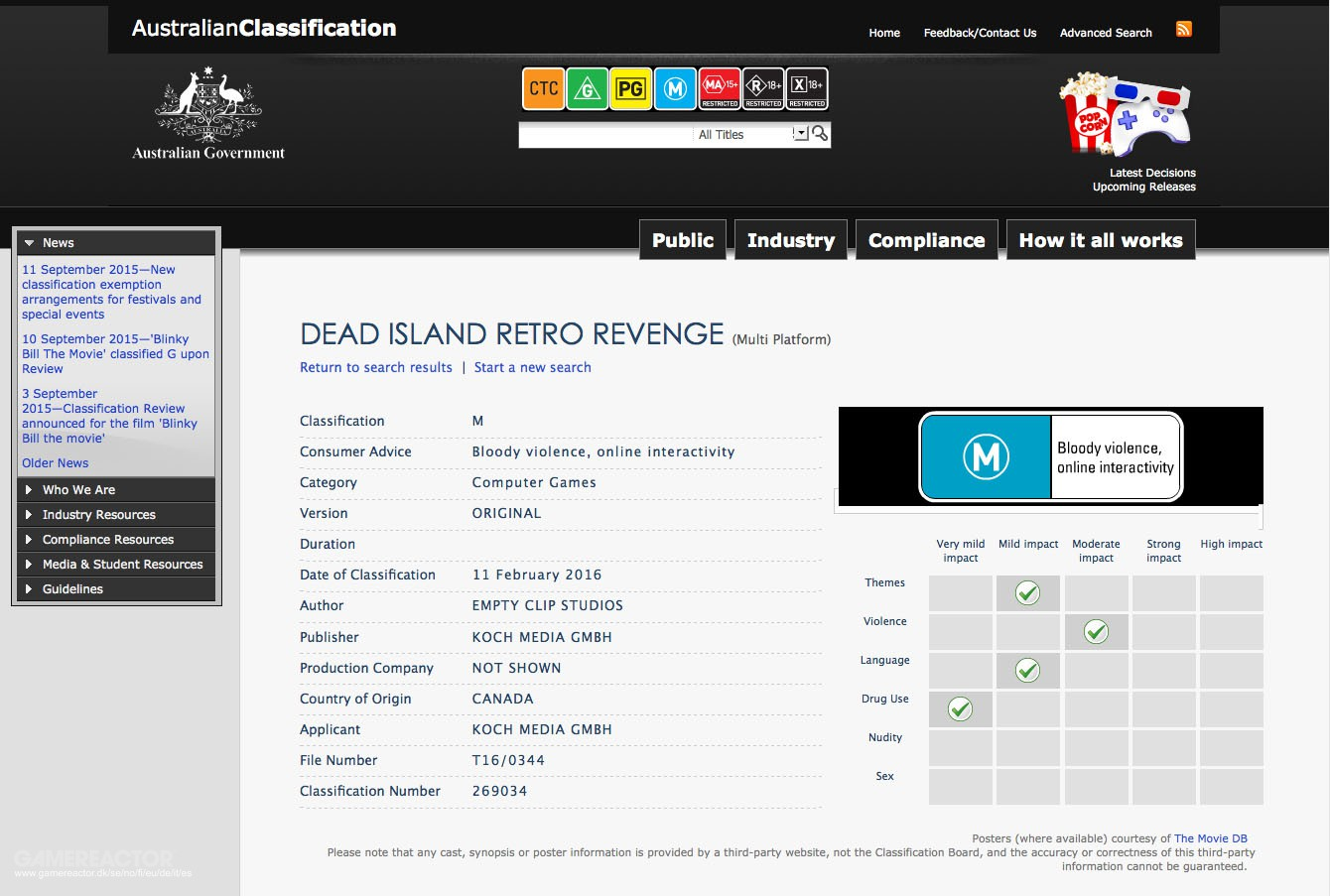 Dead Island Ps Product Id