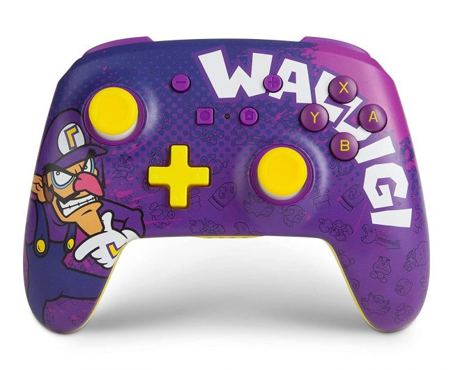 El mando de Switch perfecto para pedir a Waluigi en Smash