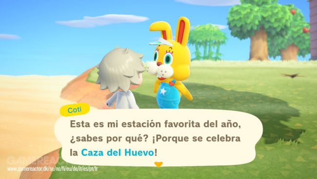 Animal Crossing: New Horizons - Guía Evento La Caza del Huevo