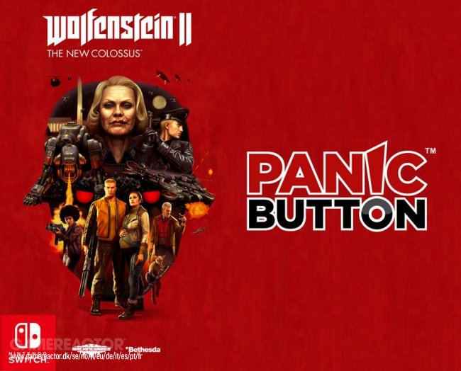 Bethesda confirma a Panic Button como estudio de Wolfenstein Switch